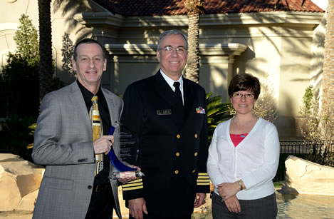 From left to right:Kevin O'Connor (NG), Greg Lotz (NIOSH) and Nancy Hall (NG)